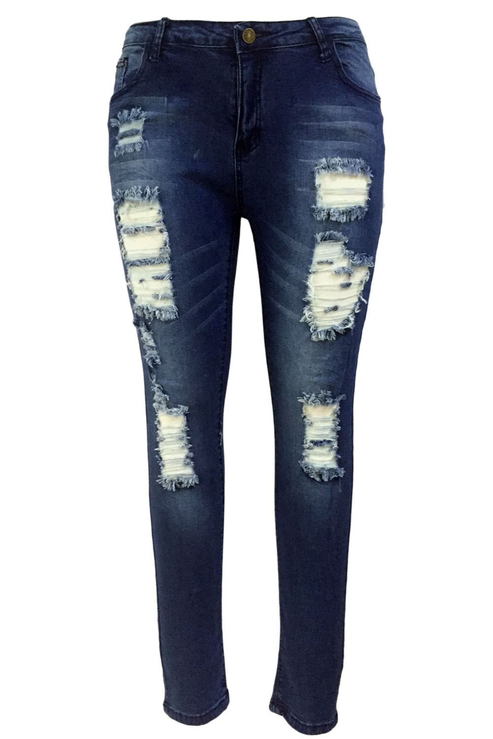 Dark-Sandblast-Wash-Denim-Destroyed-Skinny-Jeans-LC78659-5-3