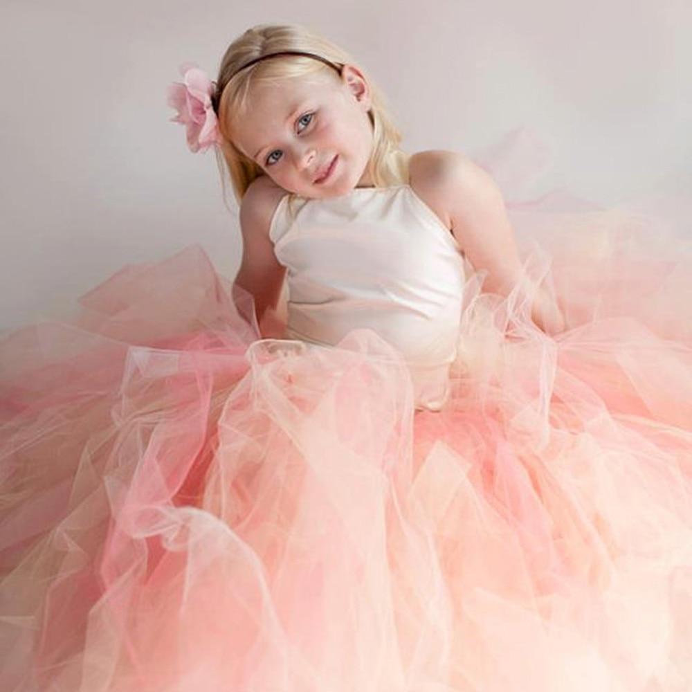 Summer 2017 Elegant Princess Formal Dress Kids Baby School Evening ...