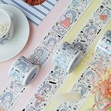Специальные чернила 35 мм широкий девушка дневник жизни лента для декорации Washi DIY наклейки для дневника Скрапбукинг MaskingTape с выпускная бумага