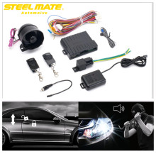 Steelmate Practical Car Alarm 838N Anti-hijacking Remote Trunk Release Hood Trigger Central Locking System Compatible steel mate