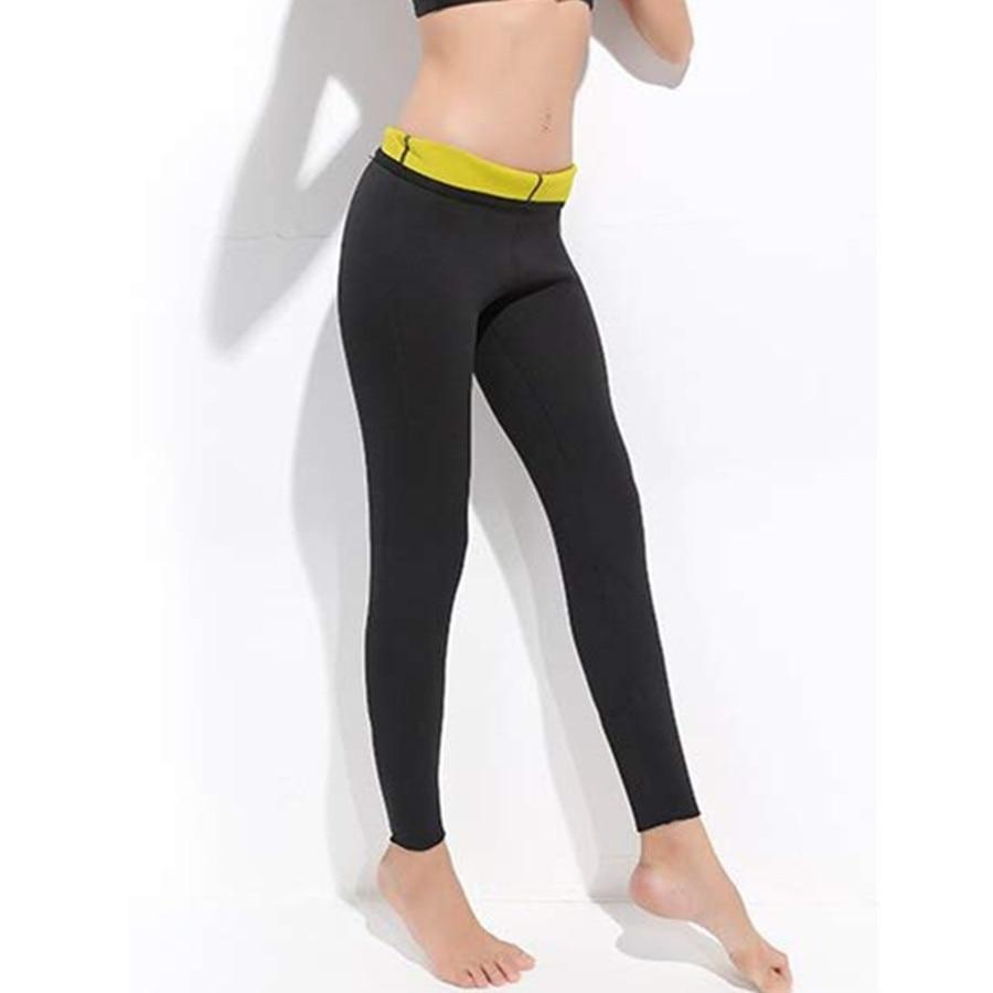2PCS Body Shaper Workout Gym Slimming Corset Underwear Tummy Pants Fat Burning