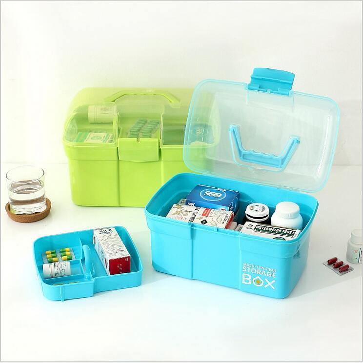 Műanyag naptár tároló bőrönd Dupla rétegű nagy kapacitású - Szervezés és tárolás