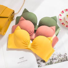 f9ee3db287 Wasteheart Women Fashion Yellow Padded Straps Bras Panties Push Up Bra Set  Sexy Lingerie Set Underwear