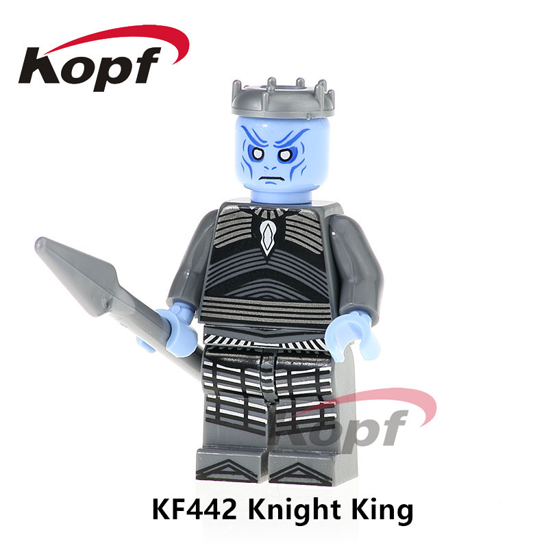Super Heroes один Продажа Игра престолов рыцарь King Железный человек Wonder Woman Кирпичи Модель строительных блоков детские игрушки подарок KF442