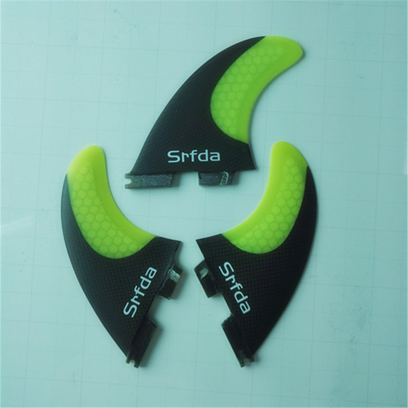 srfda SURFBOARD FINS THRUSTER SET BLUE FCS II G5 ЖАҢА SURF FIN - Су спорт түрлері - фото 5