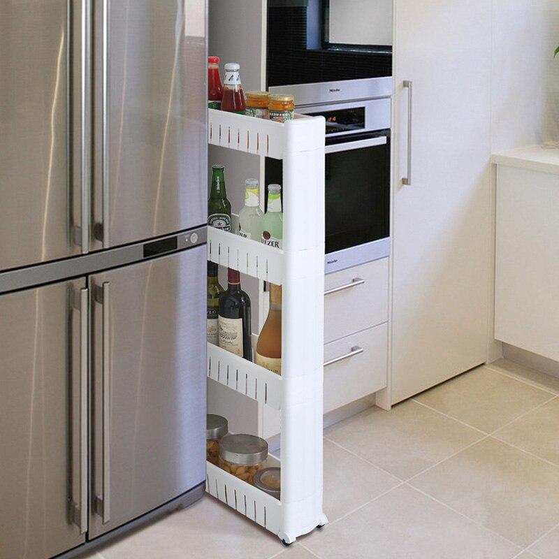 Beweglichen Kunststoff Zwischenraum Lagerung Rack Kühlschrank Raum