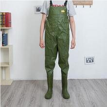 Уличная обувь для мужчин и женщин; эластичная резинка на талии; спортивные непромокаемые брюки для рыбалки; обувь для дождливой погоды; водонепроницаемая обувь; ботинки на резиновой подошве