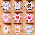 Newborn baby Rompers Baby Girl Clothes baby boy clothes Kids Cartoon Girls Rompers Baby Clothing Sets Infant Jumpsuit