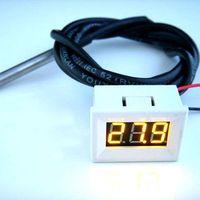 3 в 1 автомобиль часы термометр вольтметр цифровой автомобиль электронные часы температура вольтметр с зеленый светодиод постоянного тока 12 в 24 в