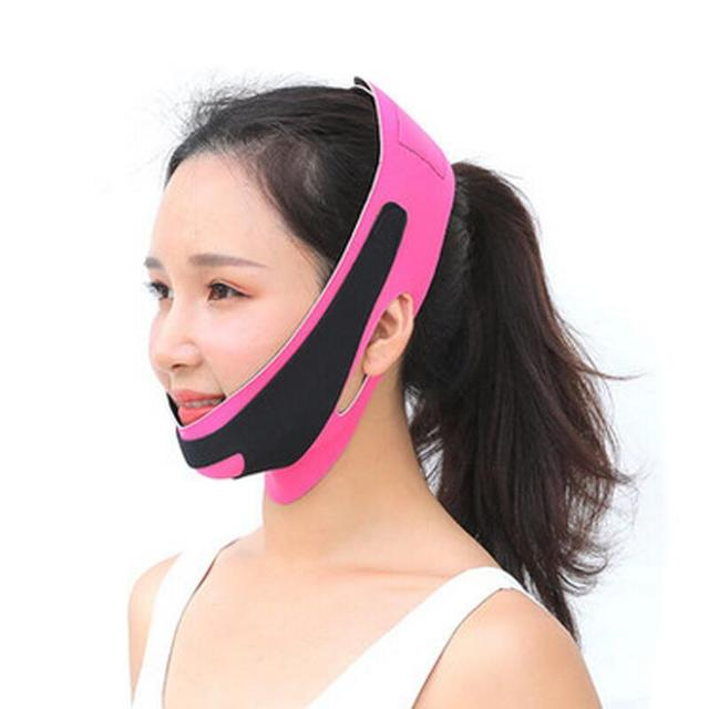 Delicate Face Lift Tool Facial Thin Slimming Bandage Skin Care tool Belt Shape And Lift Reduce Double Chin Face Slimming Band 4
