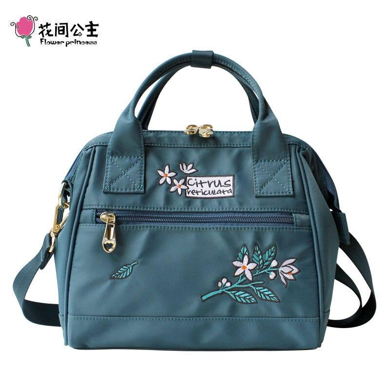 Цветок принцесса Роскошные Для женщин Сумки Для женщин Crossbody сумки нейлон Для женщин сумка женская рука мешок