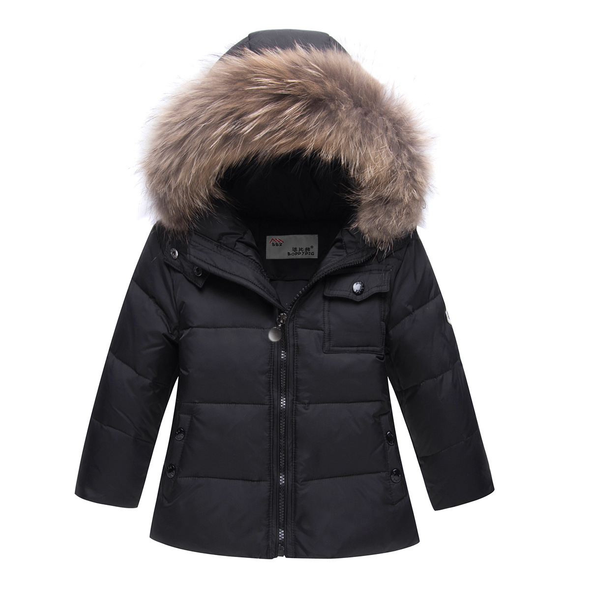 b26f6cd79f8 Russian Winter Suits for Boys Girls 2019 Ski Suit Children Clothing Set  Baby Duck Down Jacket Coat + Overalls Warm Kids Snowsuit