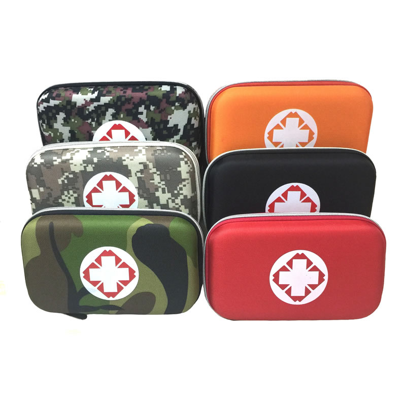 Multilayer Pockets Portable Outdoor First Aid Kit Waterproof EVA Bag For Emergency Medical Treatment In Traveln Family Or Car