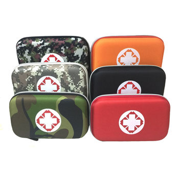 Multilayer Pockets Portable Outdoor First Aid Kit Waterproof EVA Bag For Emergency Medical Treatment In Traveln Family Or Car - discount item  5% OFF First Aid Kits