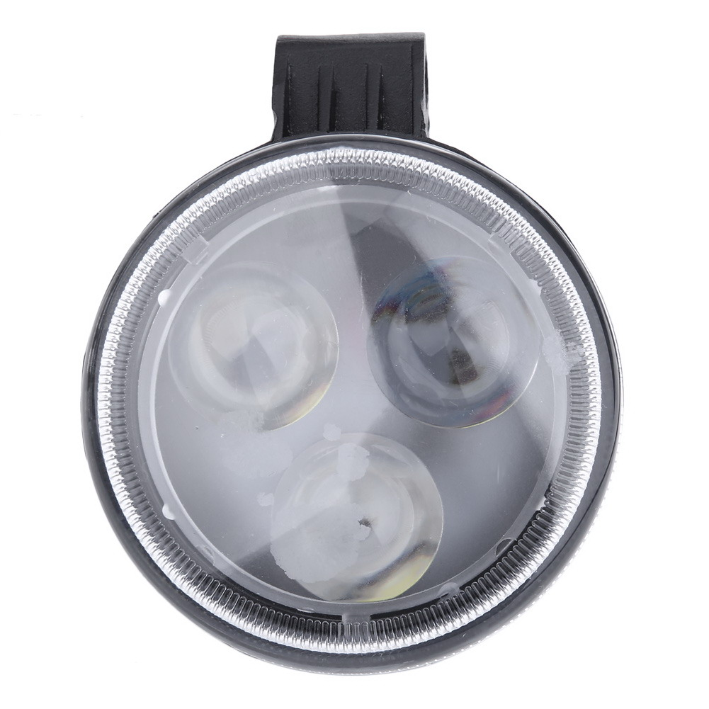 3W LED Motorcycle Fog Light Work Lights High Power LED Retrofit Circular Pure White IP 67 Waterproof car accessories