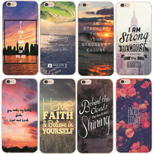 Motivational Quotes Printed Hard Plastic Phone Case