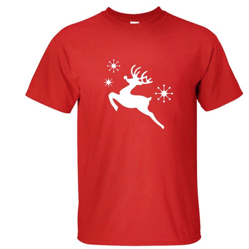 2018 Christmas Elk 3d print T Shirt Men Women New 100% Cotton Christmas Gift Short Sleeve T-shirts Casual Cheap o-neck Tops Tees