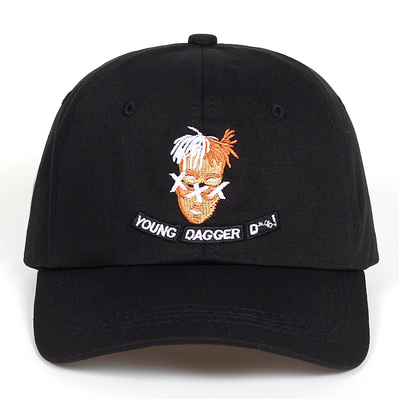 2018 new 100% Cotton Singer xxxtentacion Dreadlocks Snapback   Cap   For Men Women Hip Hop Dad Hat   Baseball     Cap   Bone Garros