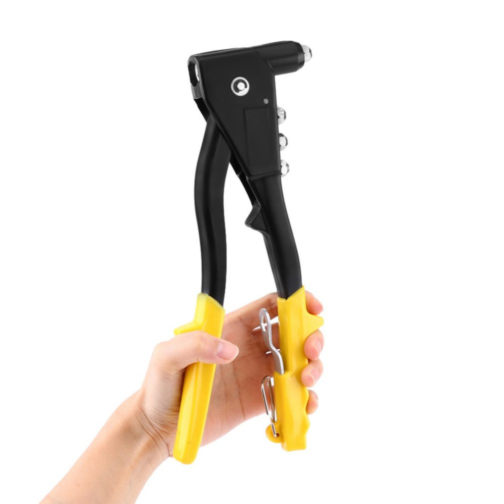 Universal Heavy Duty 2-Way Hand Riveter Manual Pop Rivet Gun Riveting Pull Cap Gun Rivet Household Hand Tool
