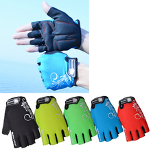 Bicycle Gloves Mountain Bike Breathable Anti-slip Anti-shock Half Finger Cycling ASD88