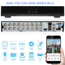 16 Channels H.264 Network Motion Detection 16CH DVR CCTV Surveillance Security System Digital Video Recorder 5-in-1 AHD DVR