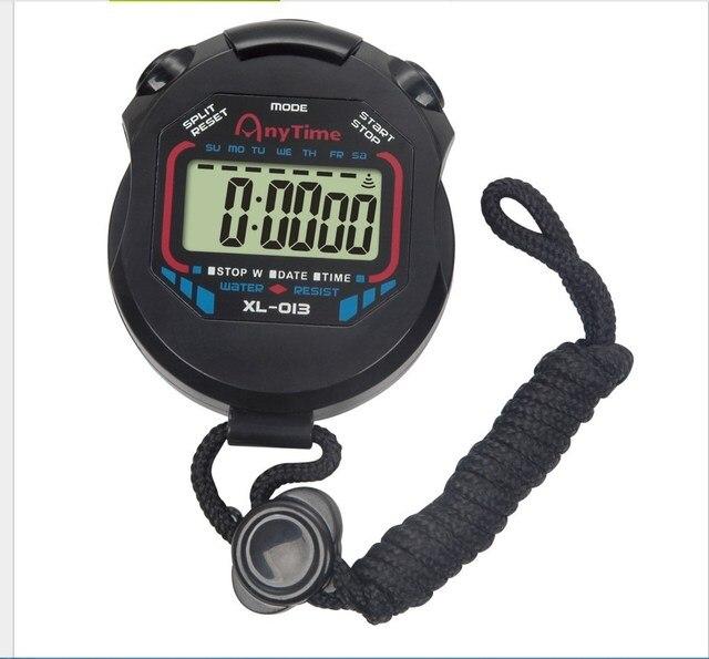 classic digital professional handheld lcd chronograph sports