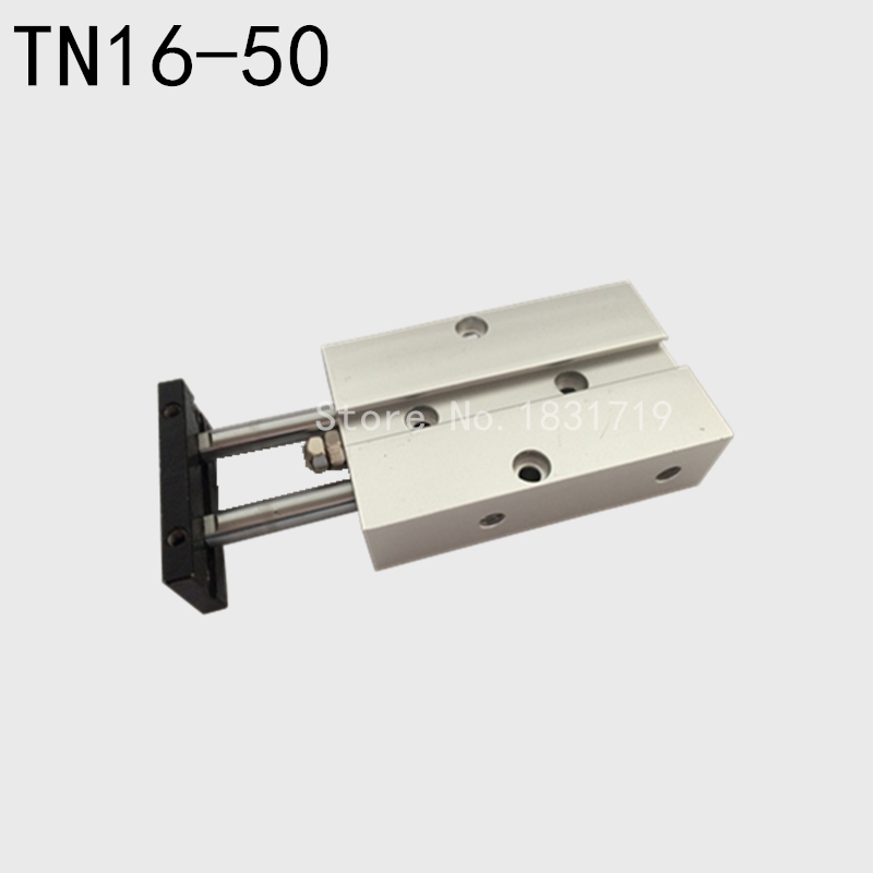 AirTAC styp TDA16-50 biaxial cylinder TDA16*50 double rod cylinder pneumatic components TN16*50 cylinder 16mm bore 50mm strokeAirTAC styp TDA16-50 biaxial cylinder TDA16*50 double rod cylinder pneumatic components TN16*50 cylinder 16mm bore 50mm stroke