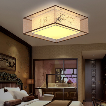 New Chinese ceiling lamp bedroom lamp round led living room lamp warm romantic simple modern creative restaurant lampsLL03161133