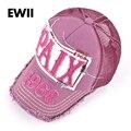 Fashion women baseball cap plain ladies hip hop caps  girl snapback letter hats for women breathable trucker hat mesh casquette