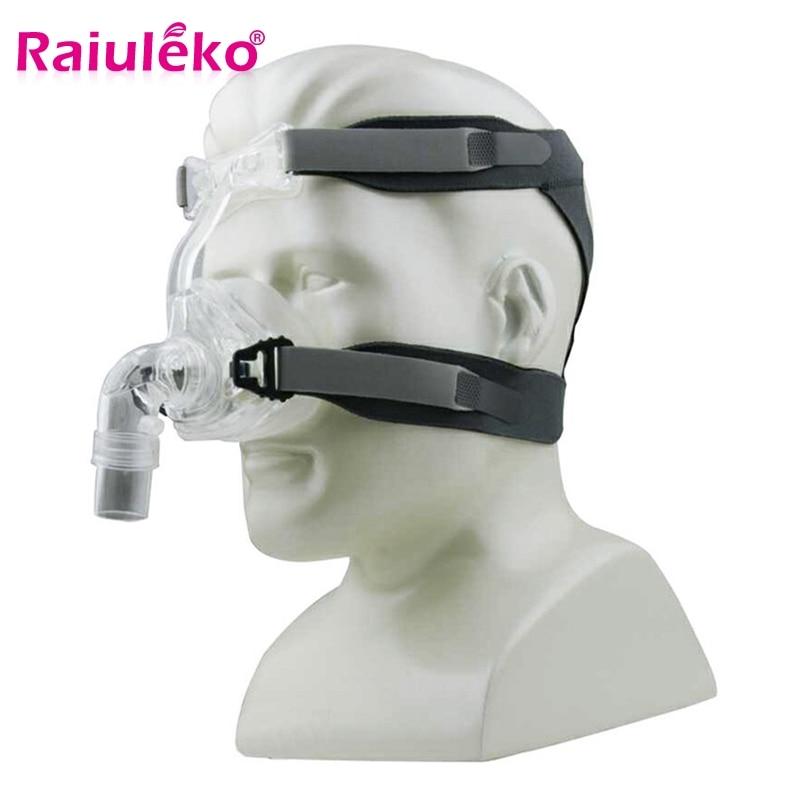 Mask Head Belt Headgear Strap Supplies For CPAP Nasal Full Face Mask Machine  Respirator For Sleeping Apnea Anti Snoring