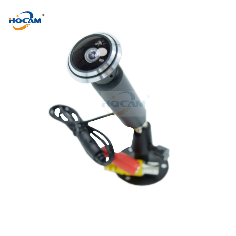 HQCAM Sony CCD 700TVL Mini Bullet Camera 1.78 mm fisheye wide-angle lens Mini CAMERA CCTV Camera Small Analog Camera fisheye lens micro ccd camera mini car camera