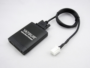 Автомобильный MP3-плеер Yatour, USB адаптер для LEXUS RX300 GX 470 GS 300 IS 430 LX470, Bluetooth, радио, цифровой, устройство смены компакт-дисков, SD, AUX, yt-m06