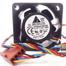 Delta PFB0412EHN 4028 40 мм 4 см 12V 0.72A 4-контактный pwm промышленные Инверторные вентиляторы охлаждения сервера