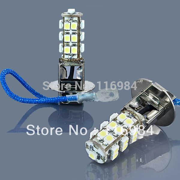 1 шт. H3 25 Светодиодные Автомобильные фары SMD 2835 1210 Авто светодиодные задние тормоза фары противотуманные поворота сигнальный Клин свет заменить Ксеноновые Обратный лампы