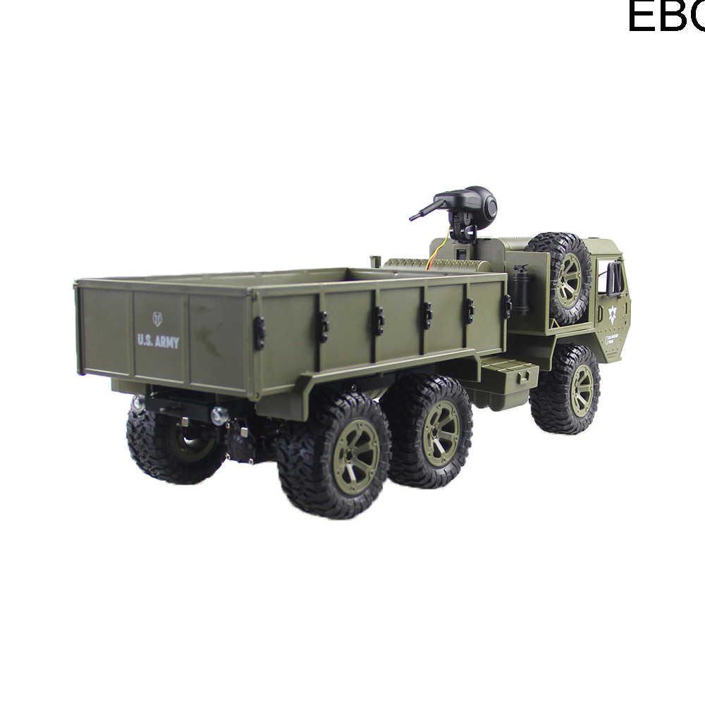 EBOYU FY004AW 15 Do Exército DOS EUA Militar Caminhão 1:16 2.4G de Alta Velocidade kmh 6WD Controle Remoto Caminhão Do RC Off- estrada RTR Presente para As Crianças