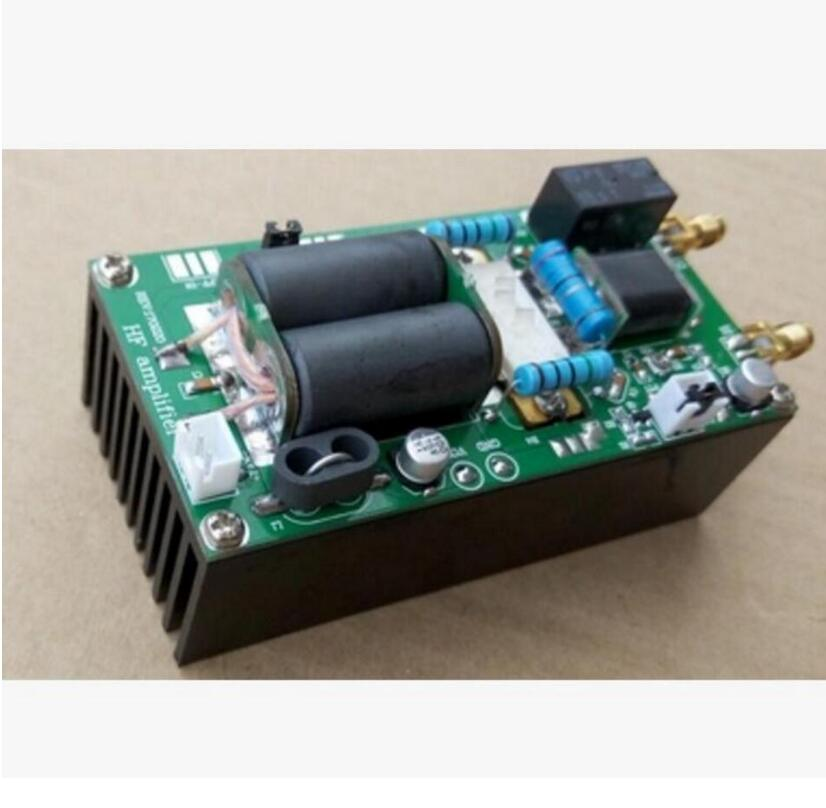 MINIPA DIY KITS 100W SSB linear HF Power Amplifier YAESU FT-817 KX3 heastink cw AM FM 2017 new 40w 1 5mhz 30mhz shortwave broadband linear power amplifier ssb cw am fm for ft817 ic703 ham qrp