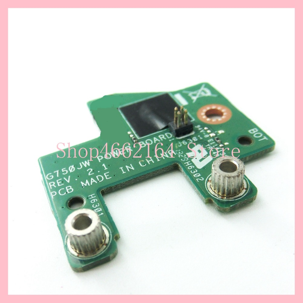 G750JW POWER BOARD For ASUS G750 G750JW G750JZ G750JM G750J G750JX G750JH  POWER Button Board Switch Button switch Small Board