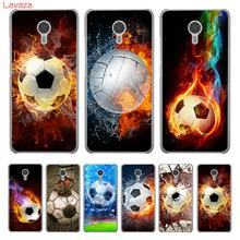 Lavaza Fire Football Soccer Ball Hard Phone Case for Meizu M3 M3S Mini M3 M5 M6 Note M5C M5S M6S Cover Shell