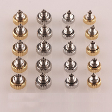 Watch Crown Generic Silver And Gold for 1pc Small-Tube Stainless-Steel
