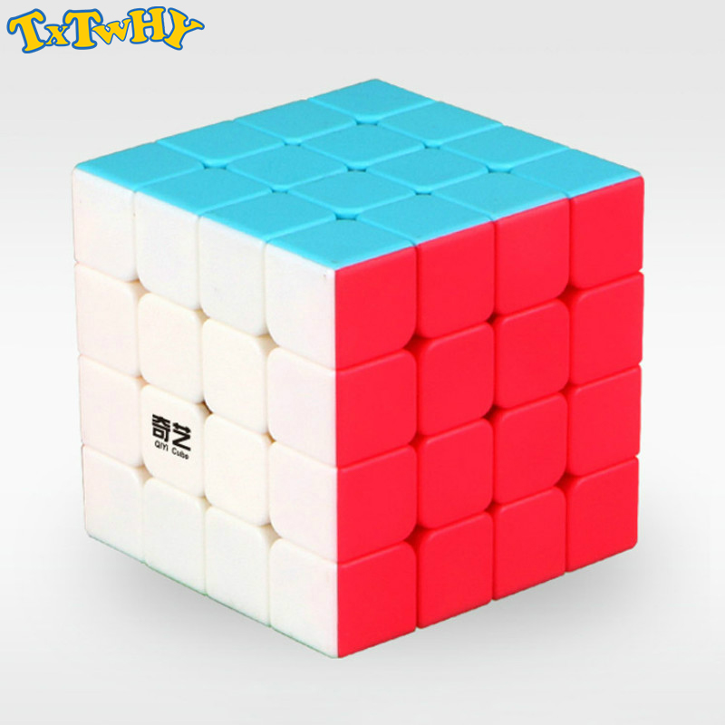New <font><b>QiYi</b></font> <font><b>Qiyuan</b></font> <font><b>S</b></font> 4x4x4 Magic Cube Puzzle <font><b>4x4</b></font> Speed Cube Stickerless Toys image