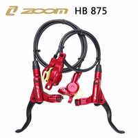 ZOOM HB-875 2018 nuevo modo bicicleta Kit de freno hidráulico 800/1400mm MTB bicicleta de presión de aceite de freno de disco de frente y trasero de piezas de bicicleta