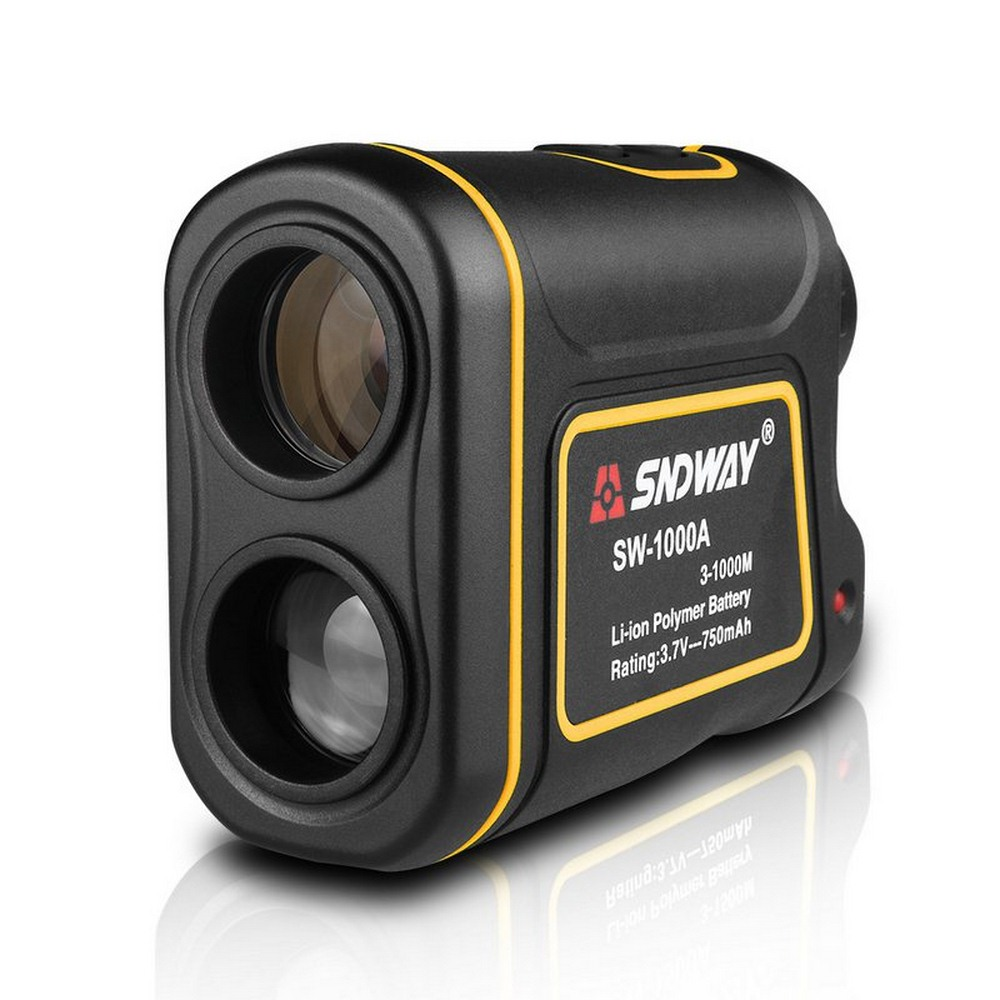 Telescópio Laser Telêmetros Distância Medidor de Bateria Digital 600/1000/1500M Monocular Golf Laser Range Finder Fita Métrica