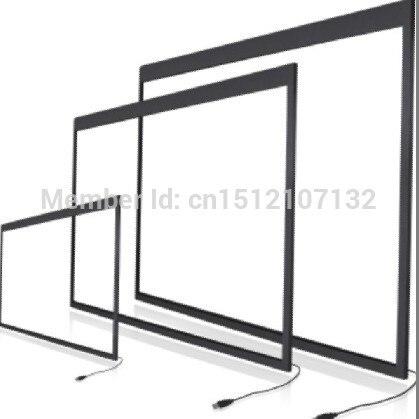 Écran tactile infrarouge 55 pouces IR, superposition d'écran tactile 2 points, interface USB avec plug and play