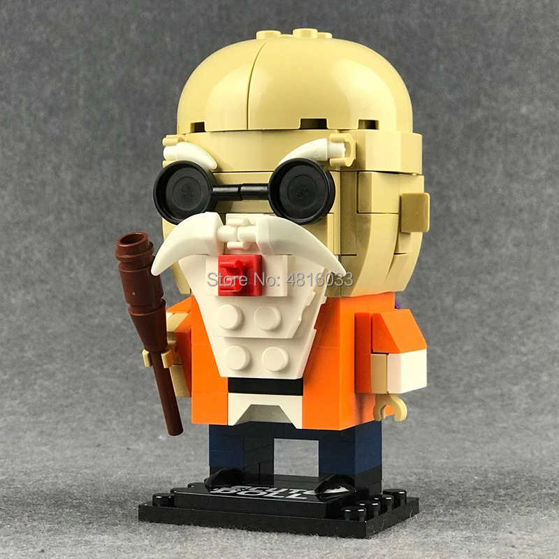 Anime Auction Figures BrickHeadz Series Master roshi building blocks Kids toys for boy gifts compatible legoeinglys dragon ball