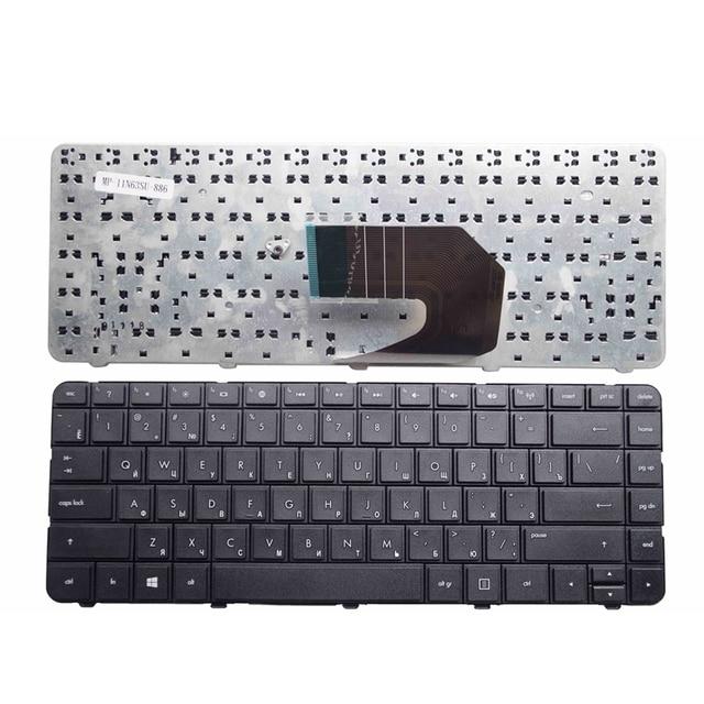Nuevo teclado ruso para ordenador portátil HP Pavilion 643263-251 AER15700010, R15 MP-10N63SU-920 9Z.N6WSF.10R 633183251 6432 RU