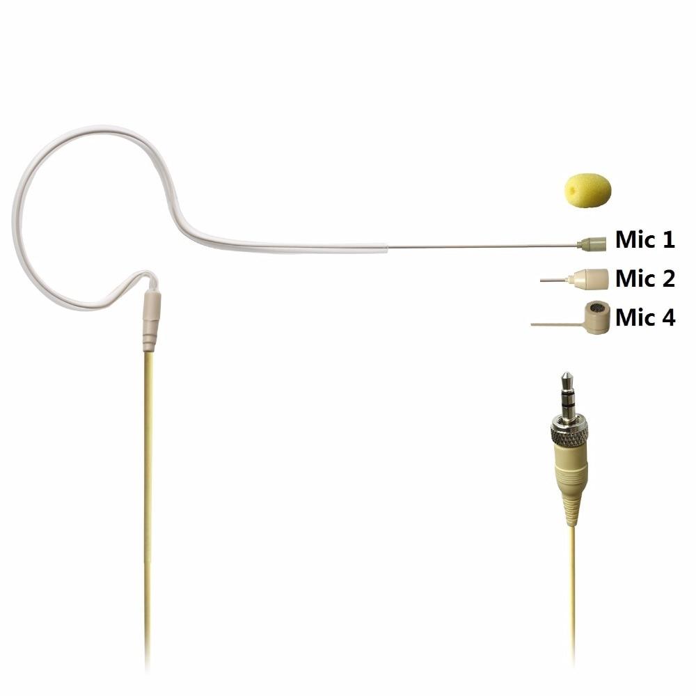 Freeboss 3.5mm Plug (with nut) Skin Color Mini Single Ear