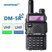 Baofeng DM-5R Walkie taklie Dual Band DMR цифровой Радио DSP трансивера 5 Вт УКВ 136-174/400-520 мГц двусторонней Радио 2000 мАч