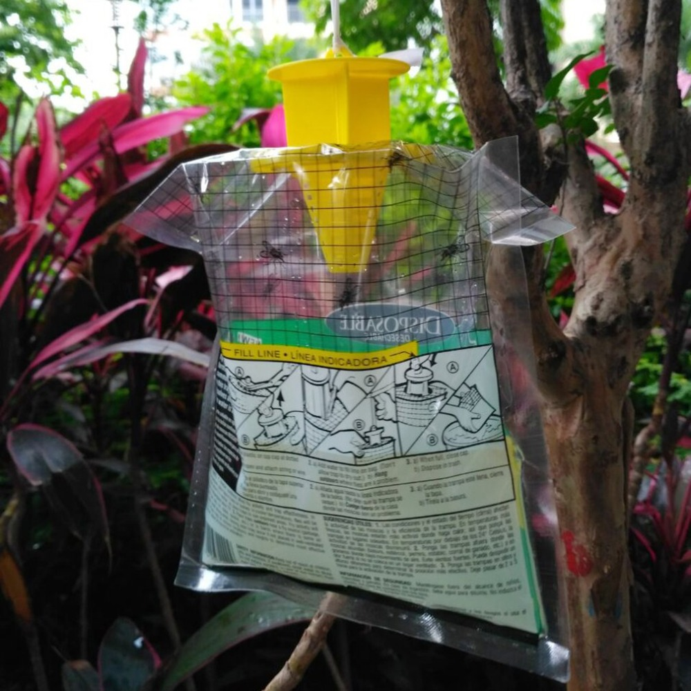 Effective Fly Trap Catcher Disposable Outdoor Fly Catcher