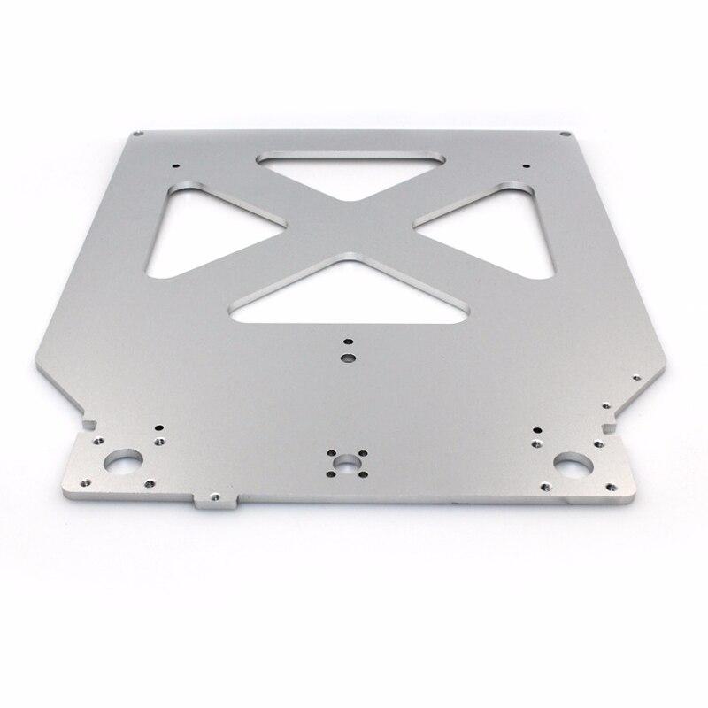 3D Imprimante pièces Ultimaker 2 UM2 Z Table Plaque De Base plate-forme support de support en aluminium chauffée chaude lit plaque