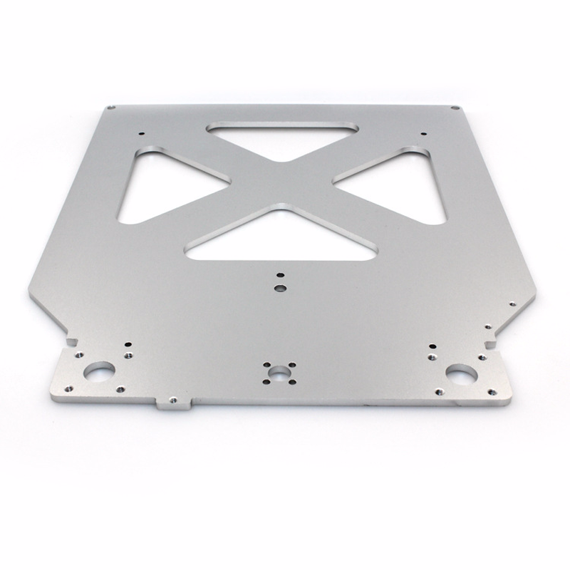 все цены на 3D Printer parts Ultimaker 2 UM2 Z Table Base Plate platform bracket supporting aluminum heated hot bed plate онлайн